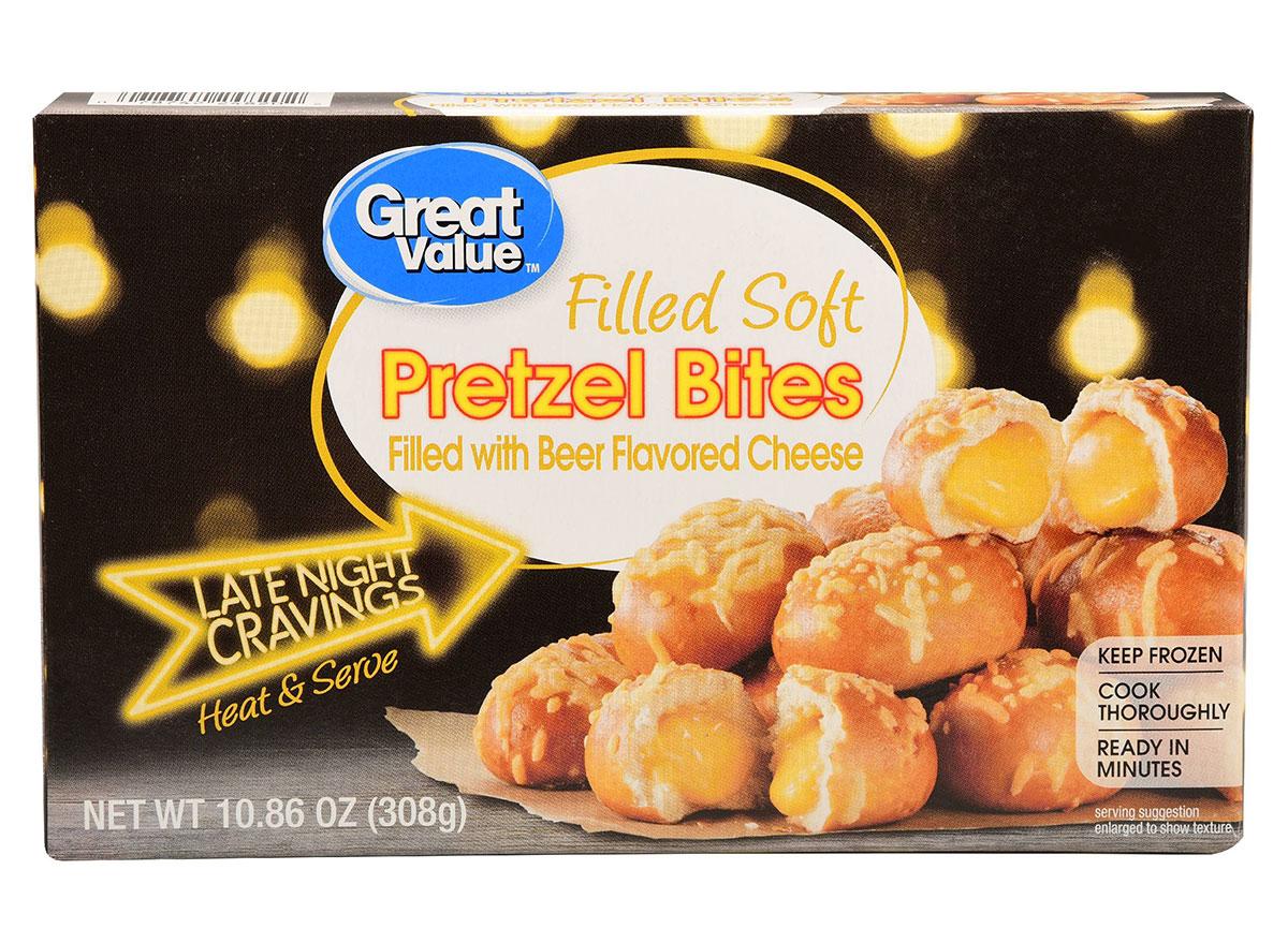 great value pretzel bites