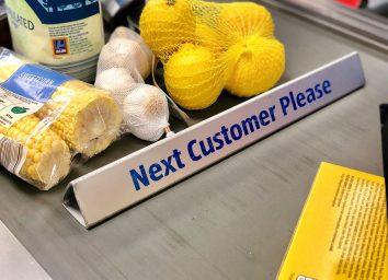 grocery store conveyor belt