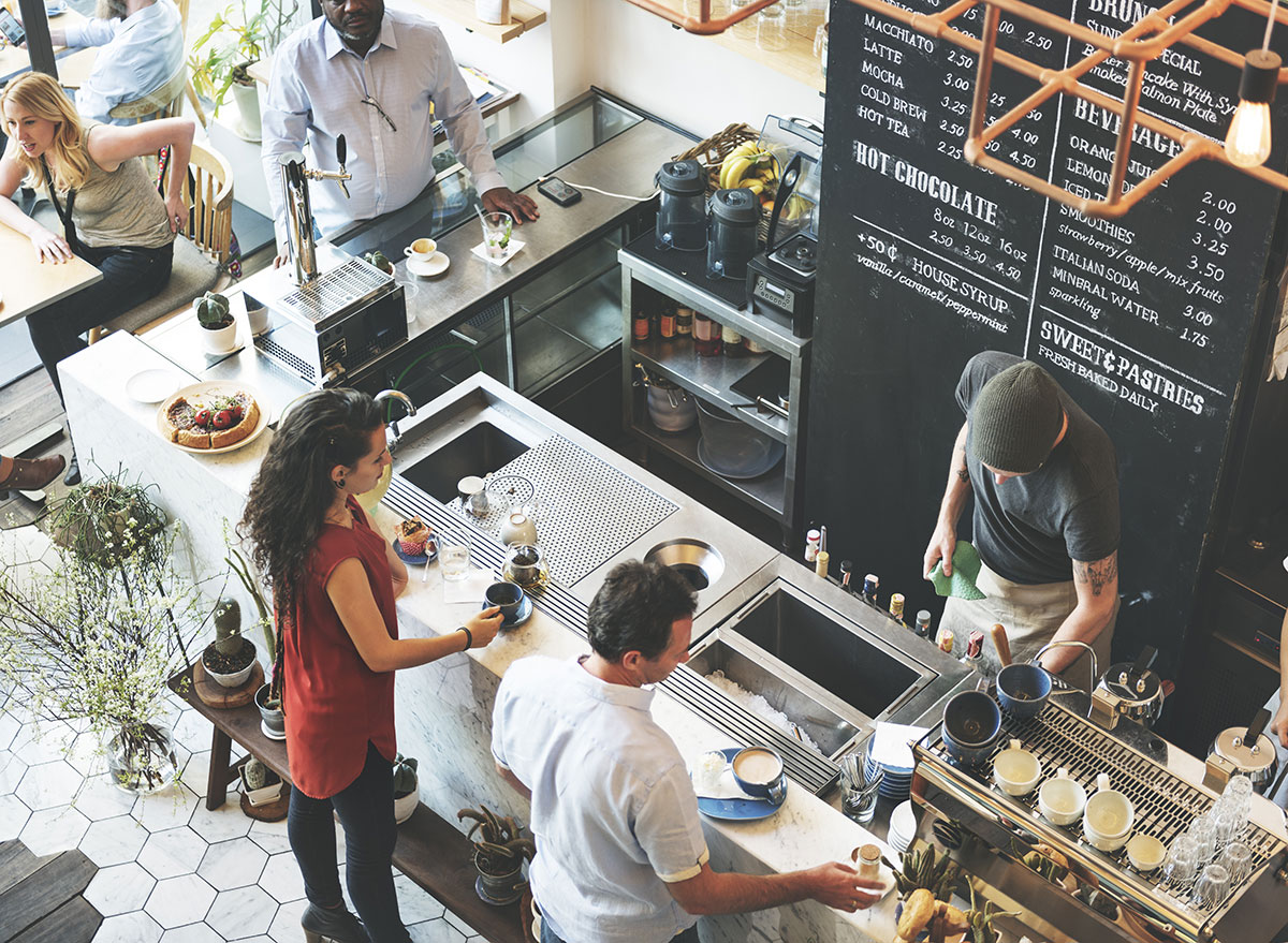 independent coffee shop