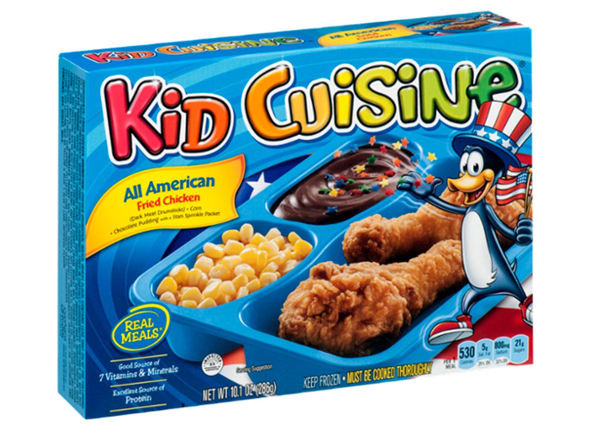 kid cuisine all american fried chicken