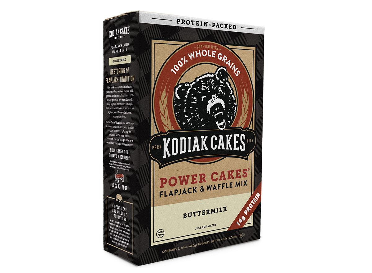 box of kodiak cakes pancake mix