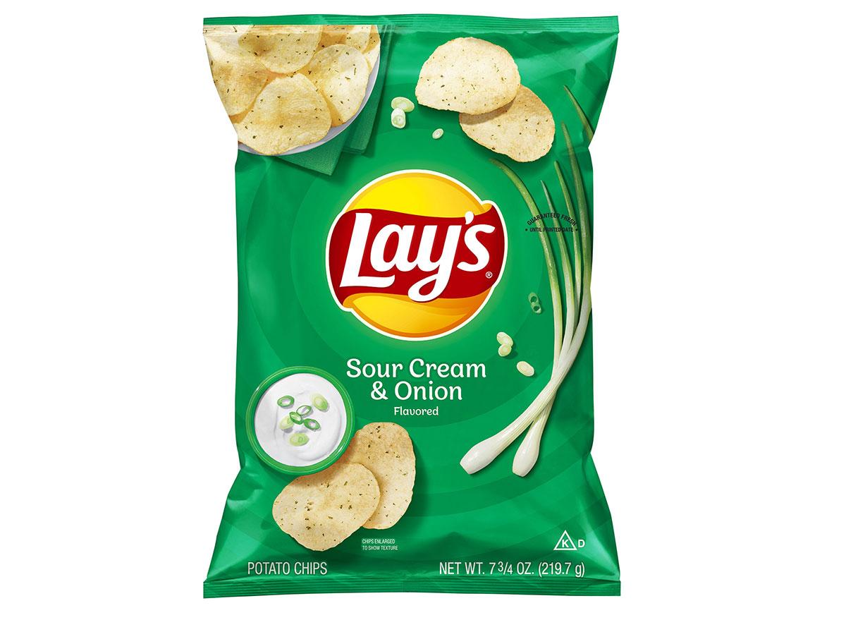 lays sour cream onion