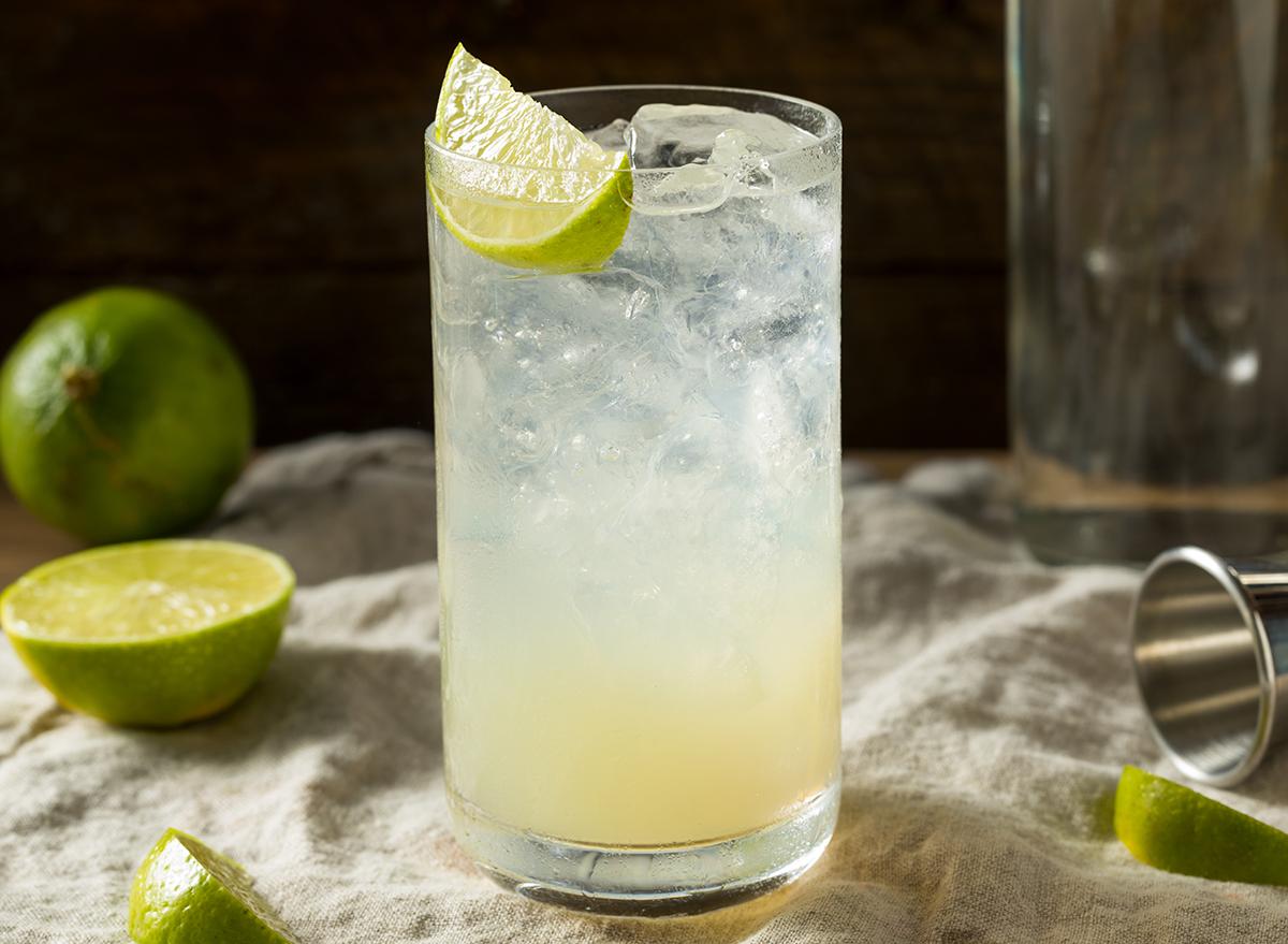 lime gin rickey