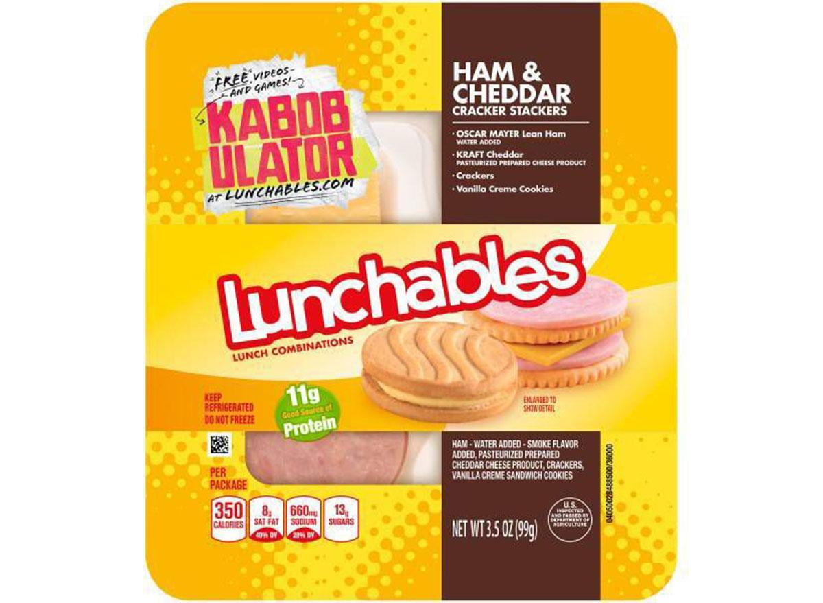 lunchables ham cheddar