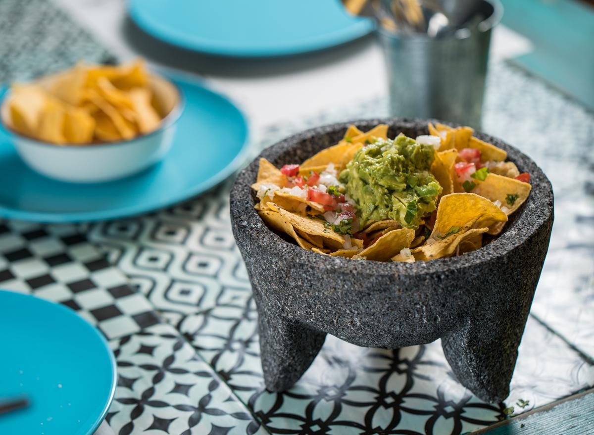 Make fresh guacamole tableside mexican restaurant