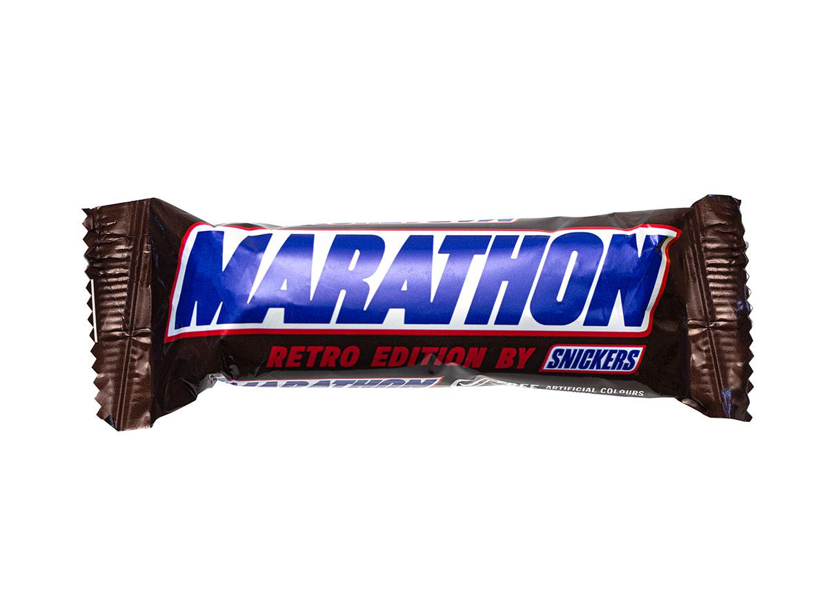 marathon retro snickers bar
