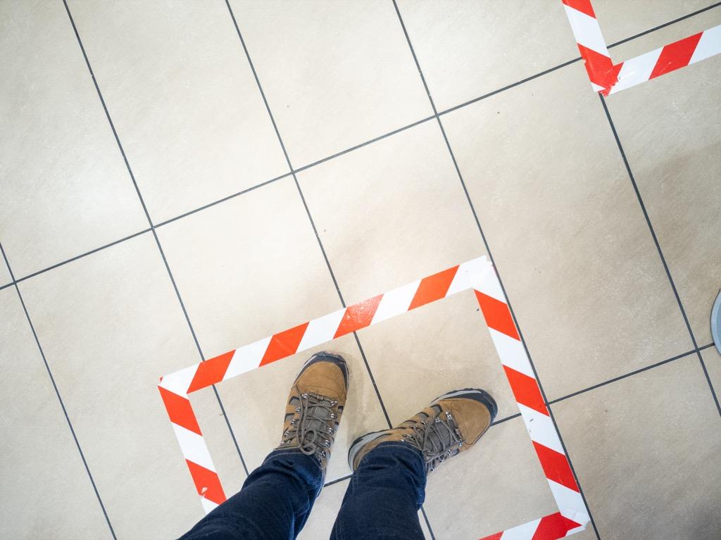 McDonalds floor