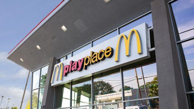 mcdonalds playplace