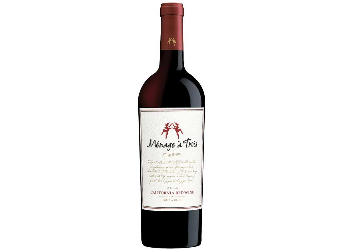 menage a trois wine