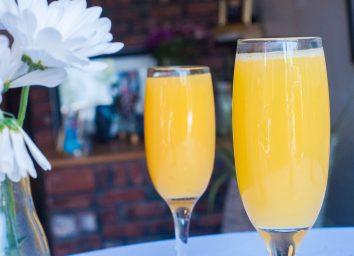 mimosa glasses