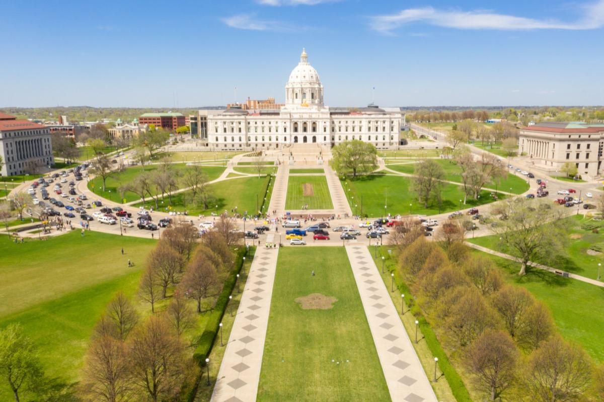 Liberate Minnesota Demonstration Outside Minnesota State Capitol