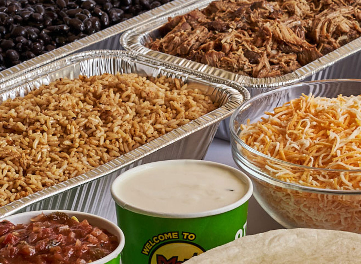 Moe's southwest grill family meal