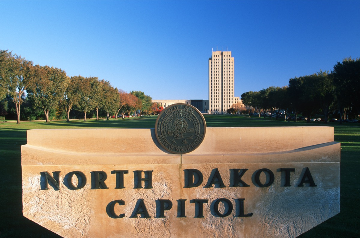 State Capitol of North Dakota, Bismarck