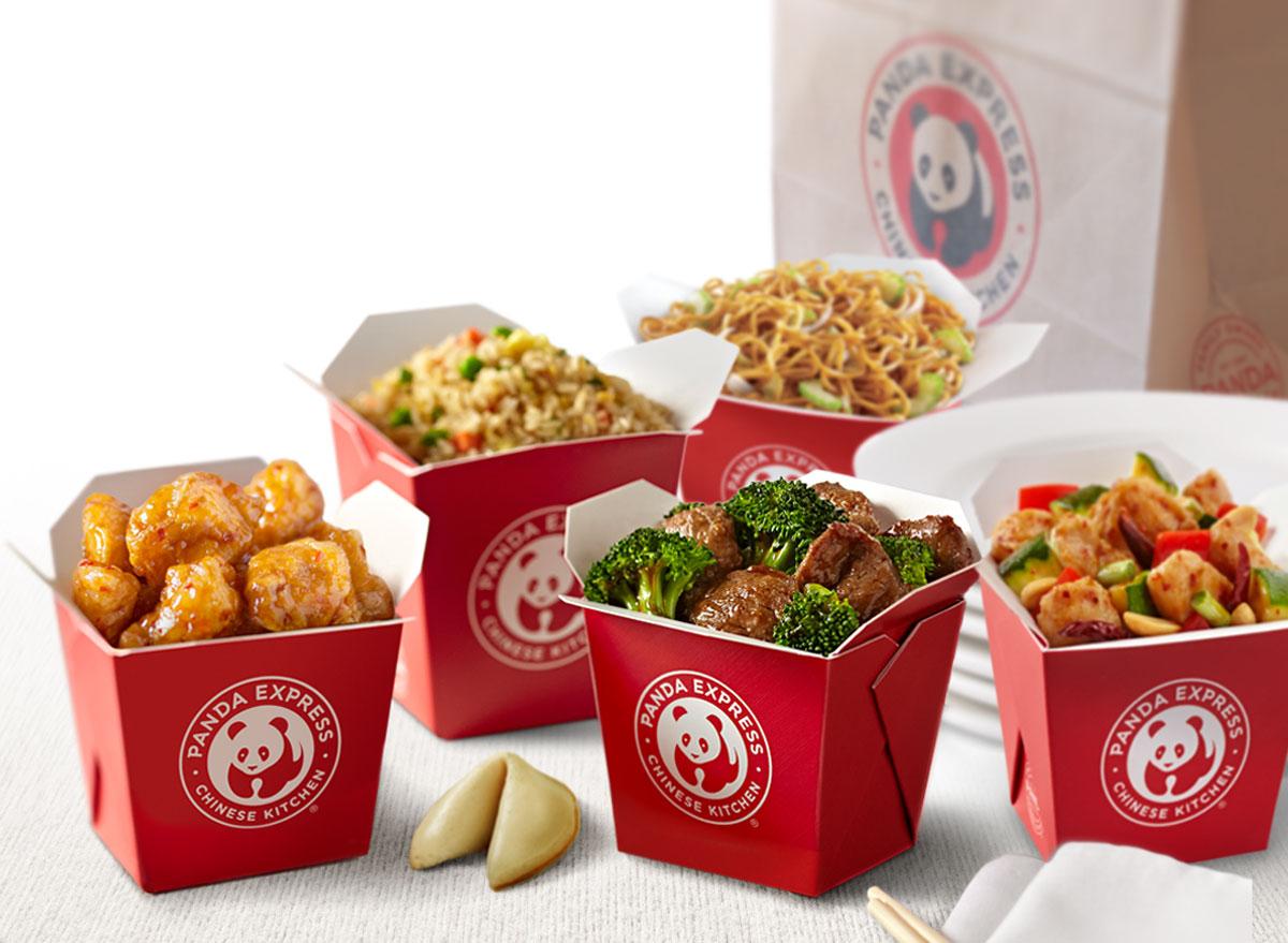 Panda express family feast