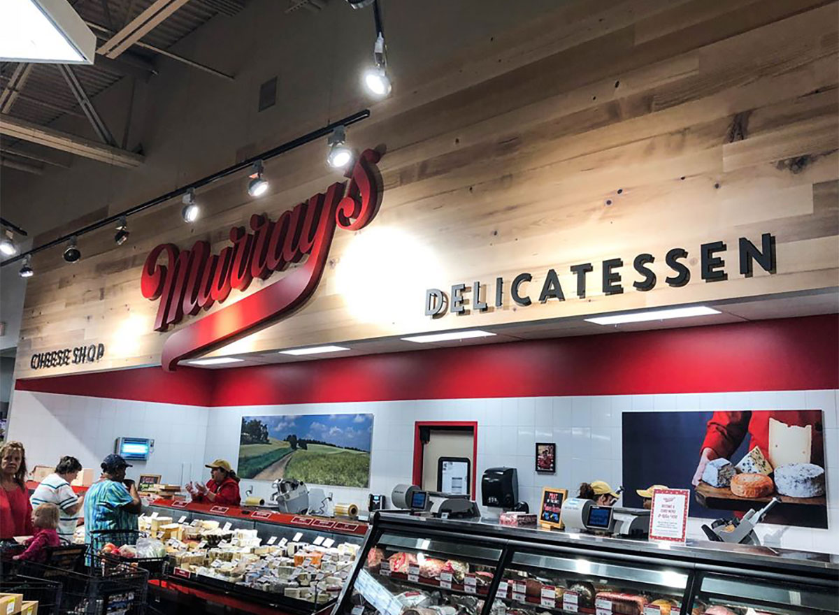 cheese and deli at pick n save supermarket