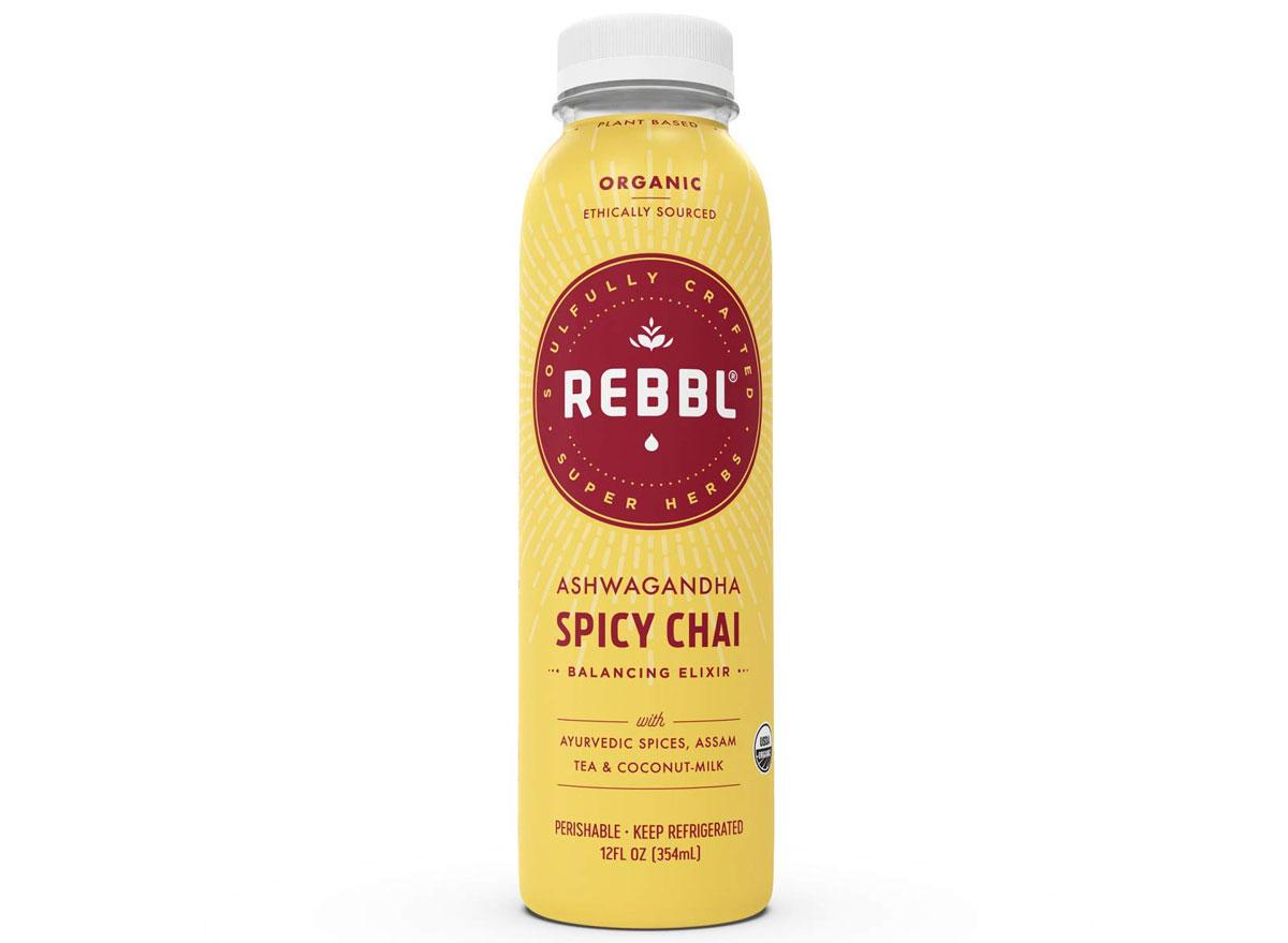 Rebbl ashwagandha spicy chai elixir