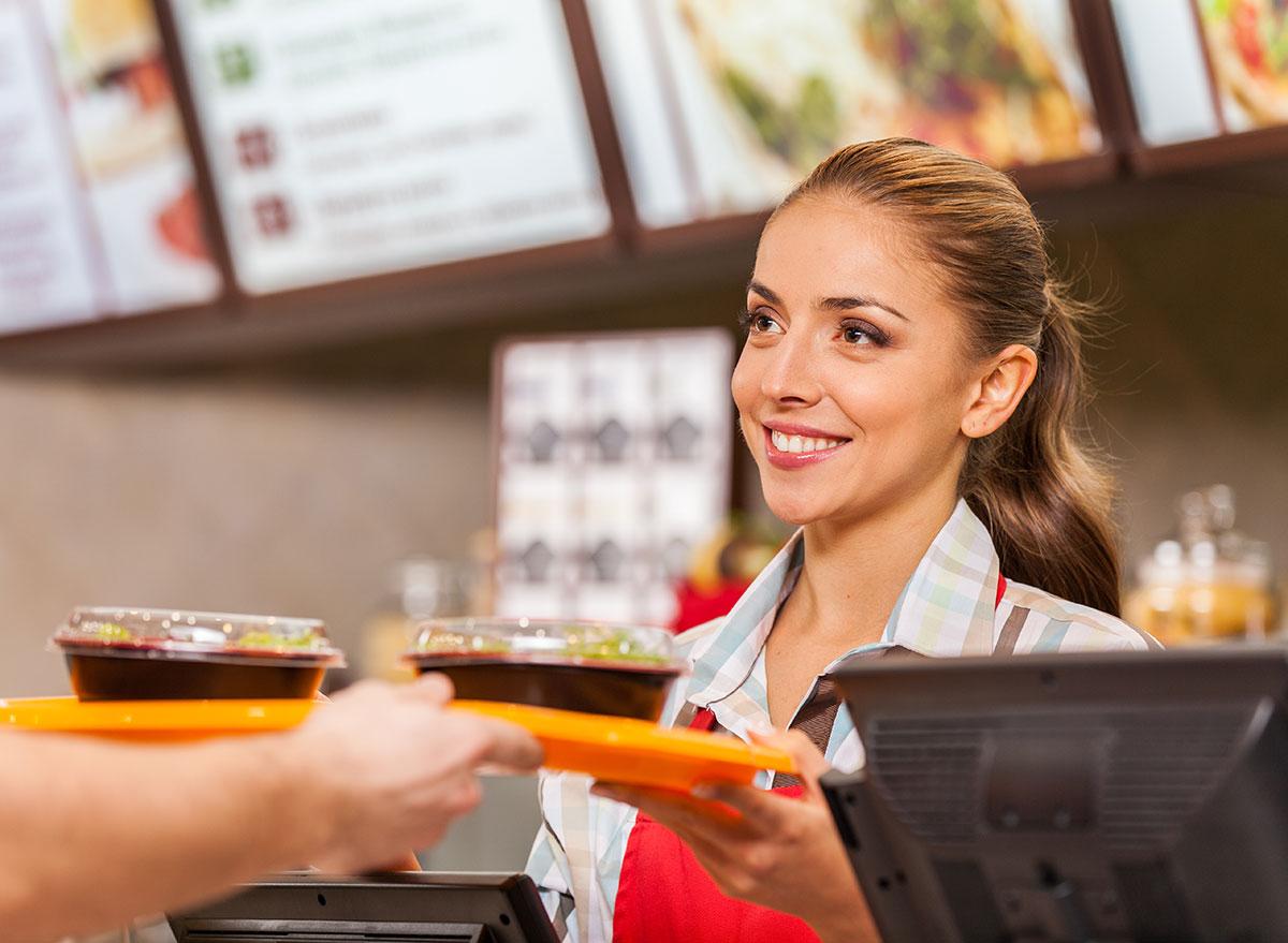restaurant employee