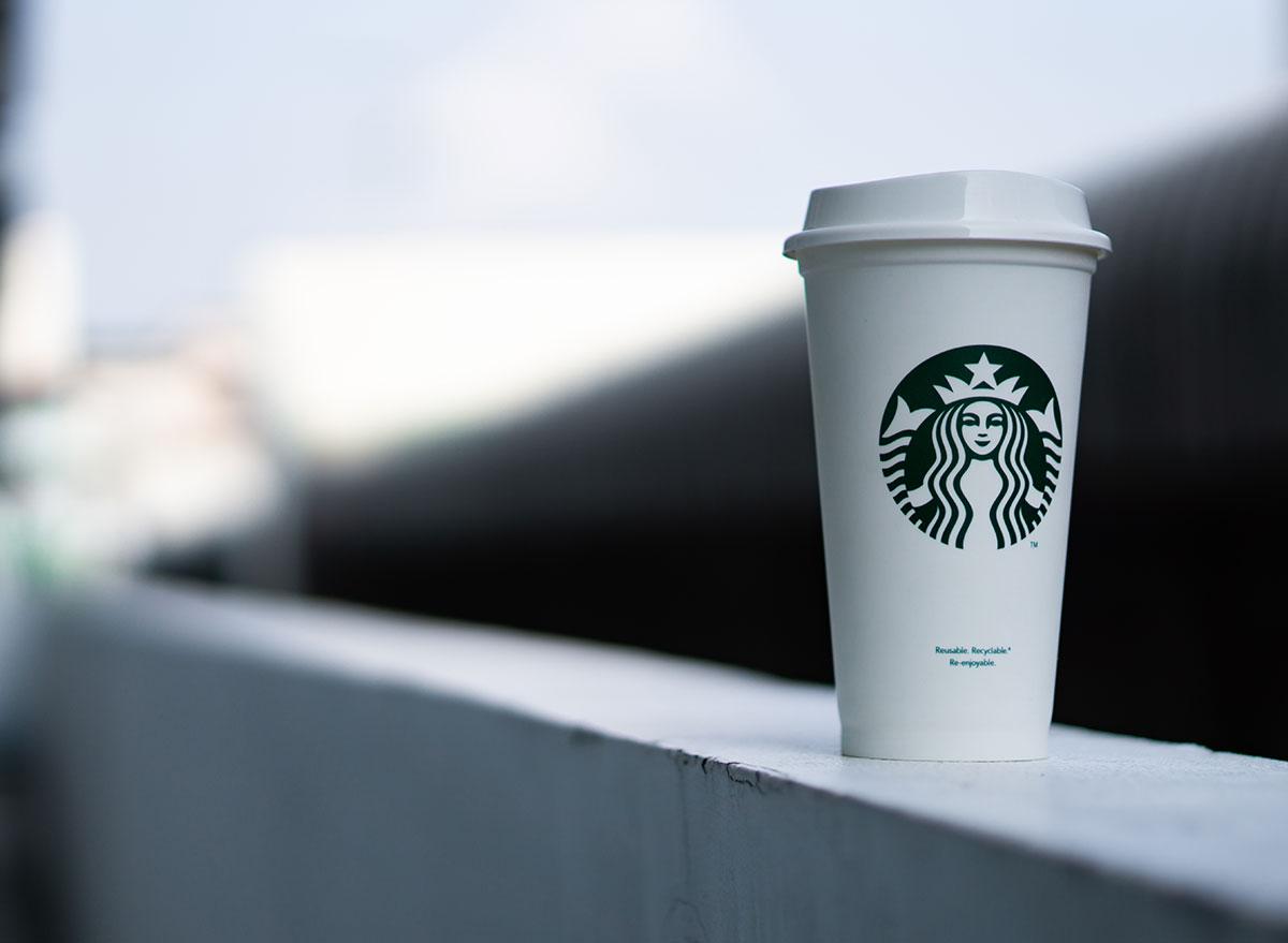 reusable starbucks mug