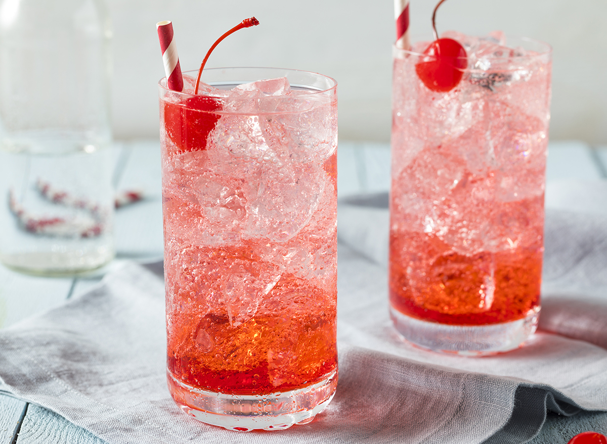 shirley temples in glasses