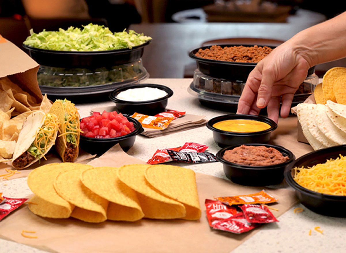 Taco bell at home