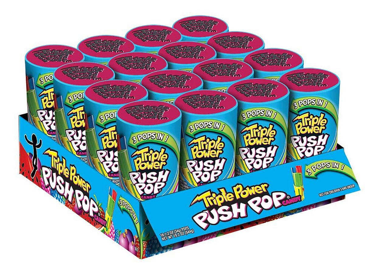 triple push pops