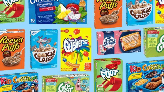 unhealthiest childhood foods