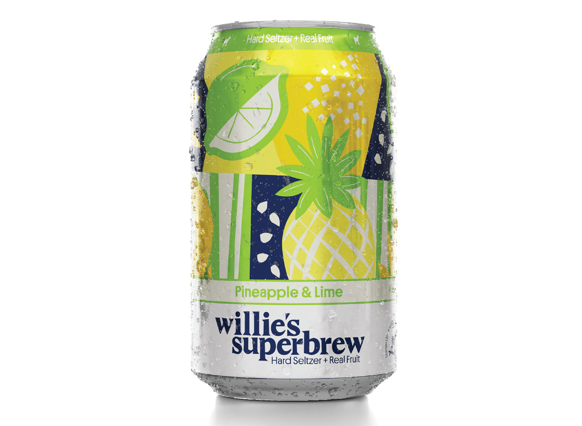 Willies superbrew lime pineapple