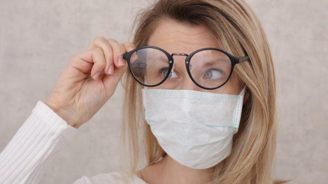 Medical mask and Glasses fogging