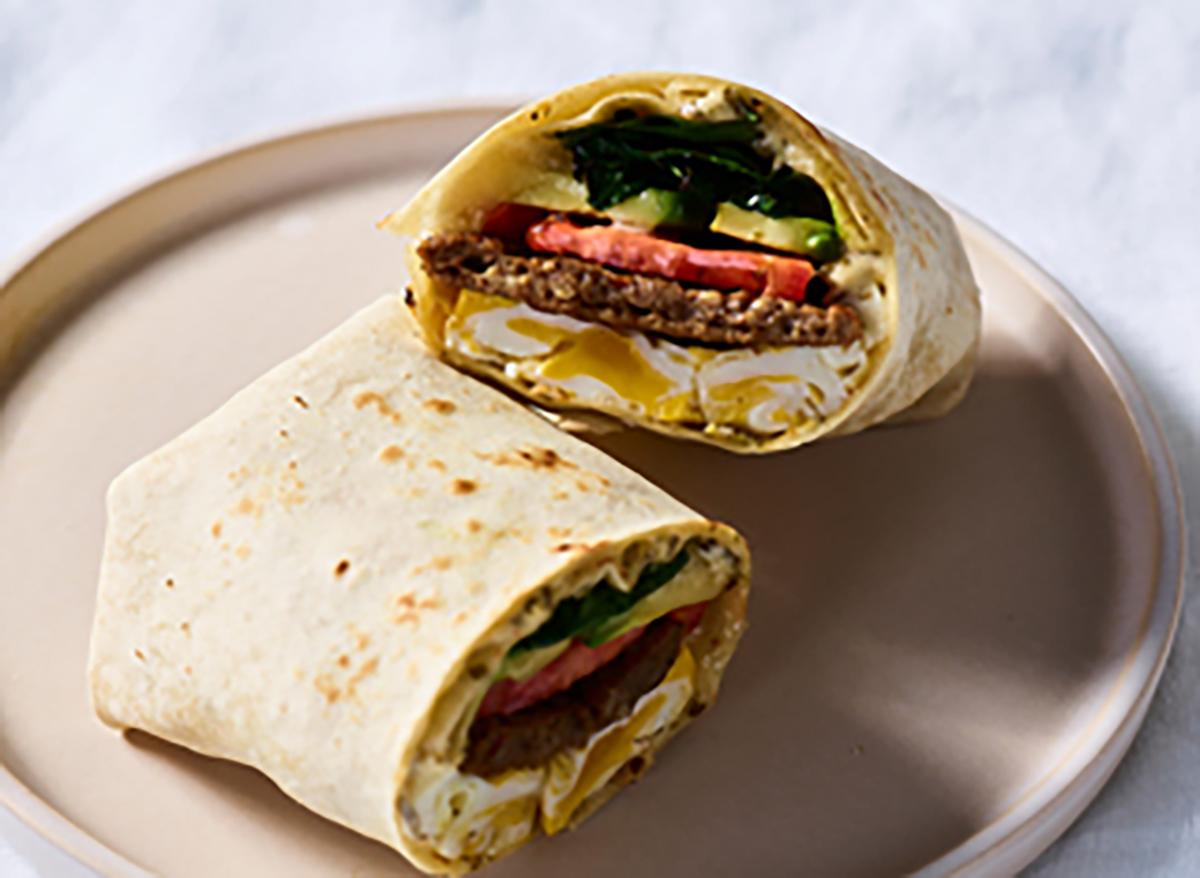 au bon pain power protein wrap