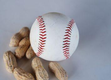 baseball and peanuts