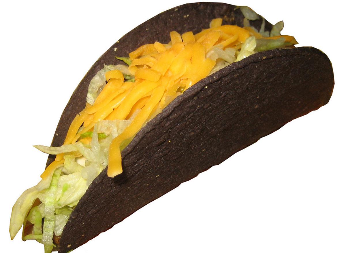 black jack taco