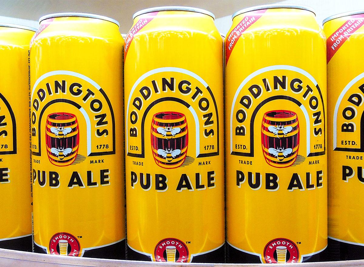 boddingtons beer cans