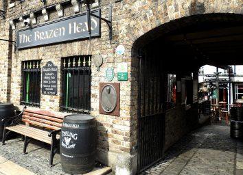brazen head pub dublin ireland exterior