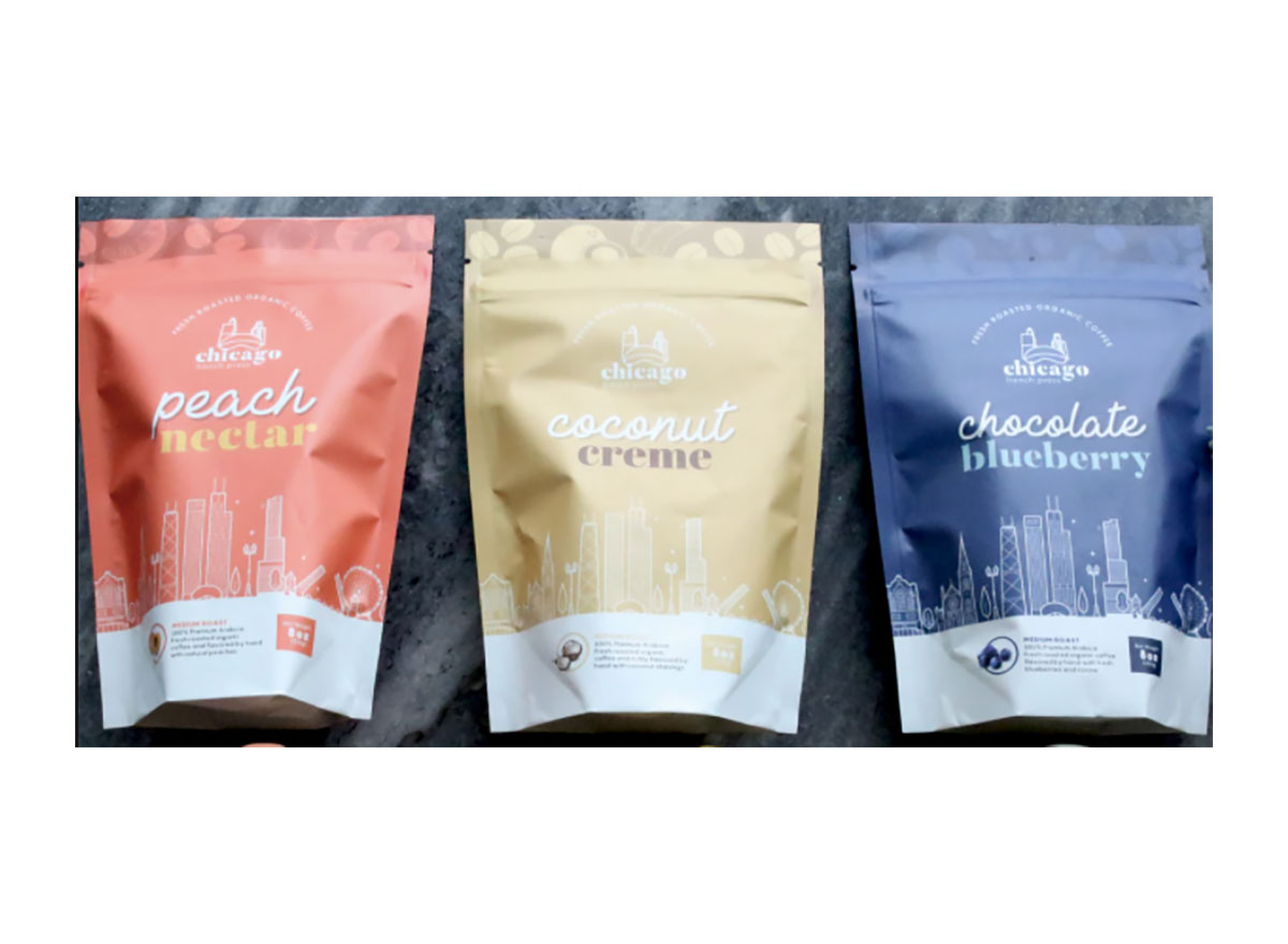 bags of chicago french press coffee
