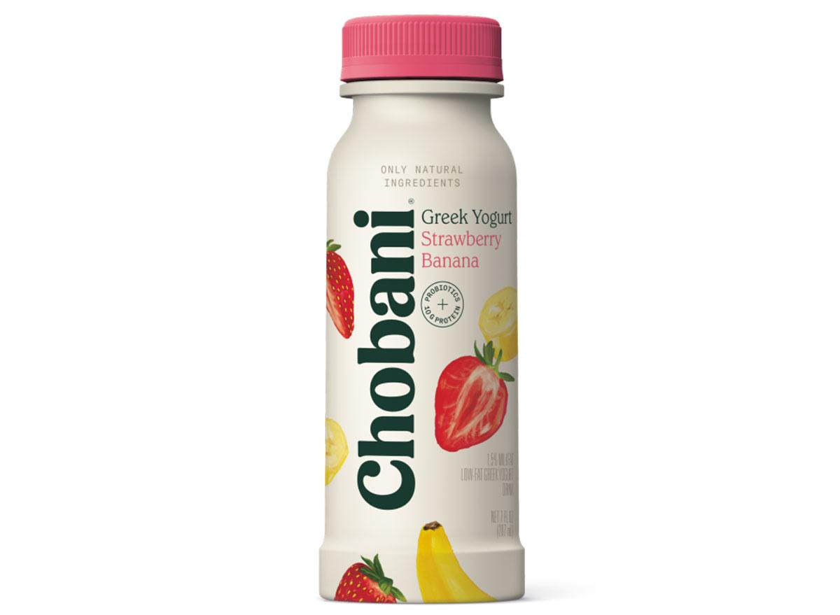 chobani strawberry banana