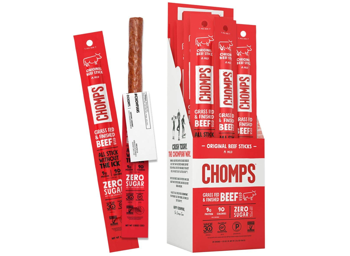 chomps beef jerky stick