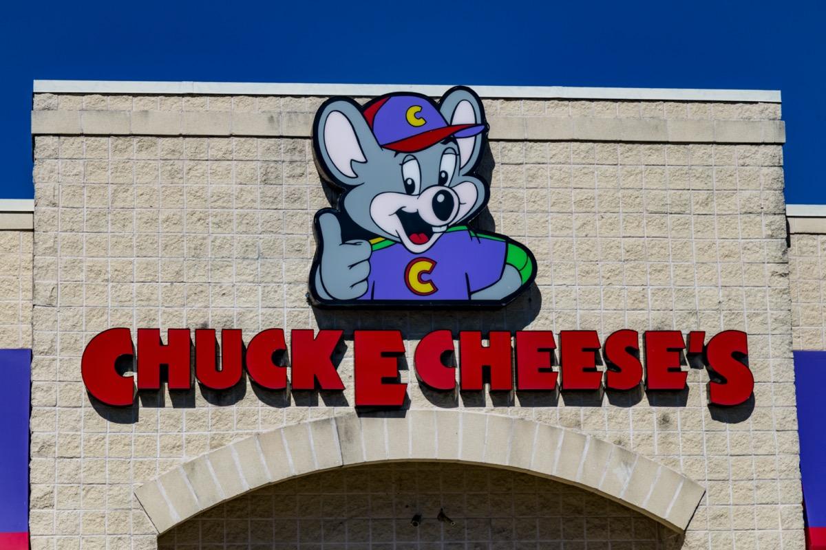 Chuck E. Cheese's store