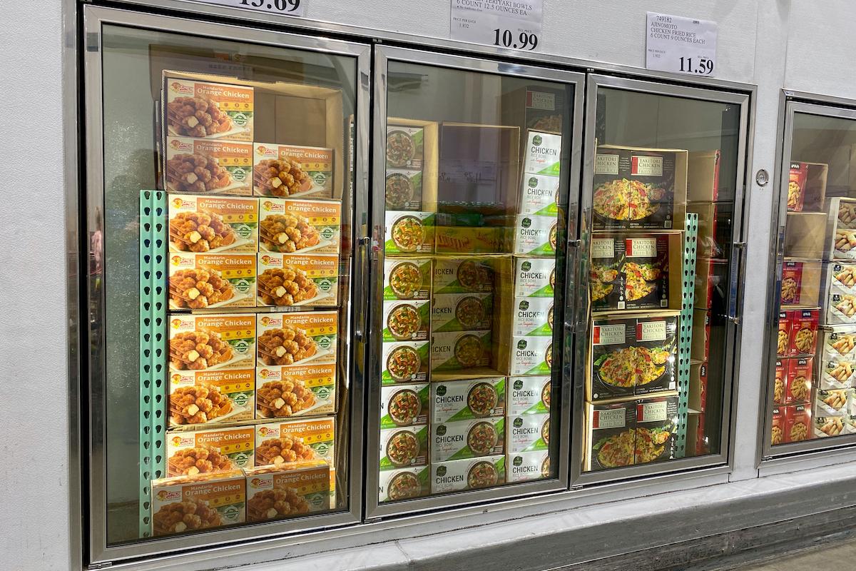 freezer aisle at costco