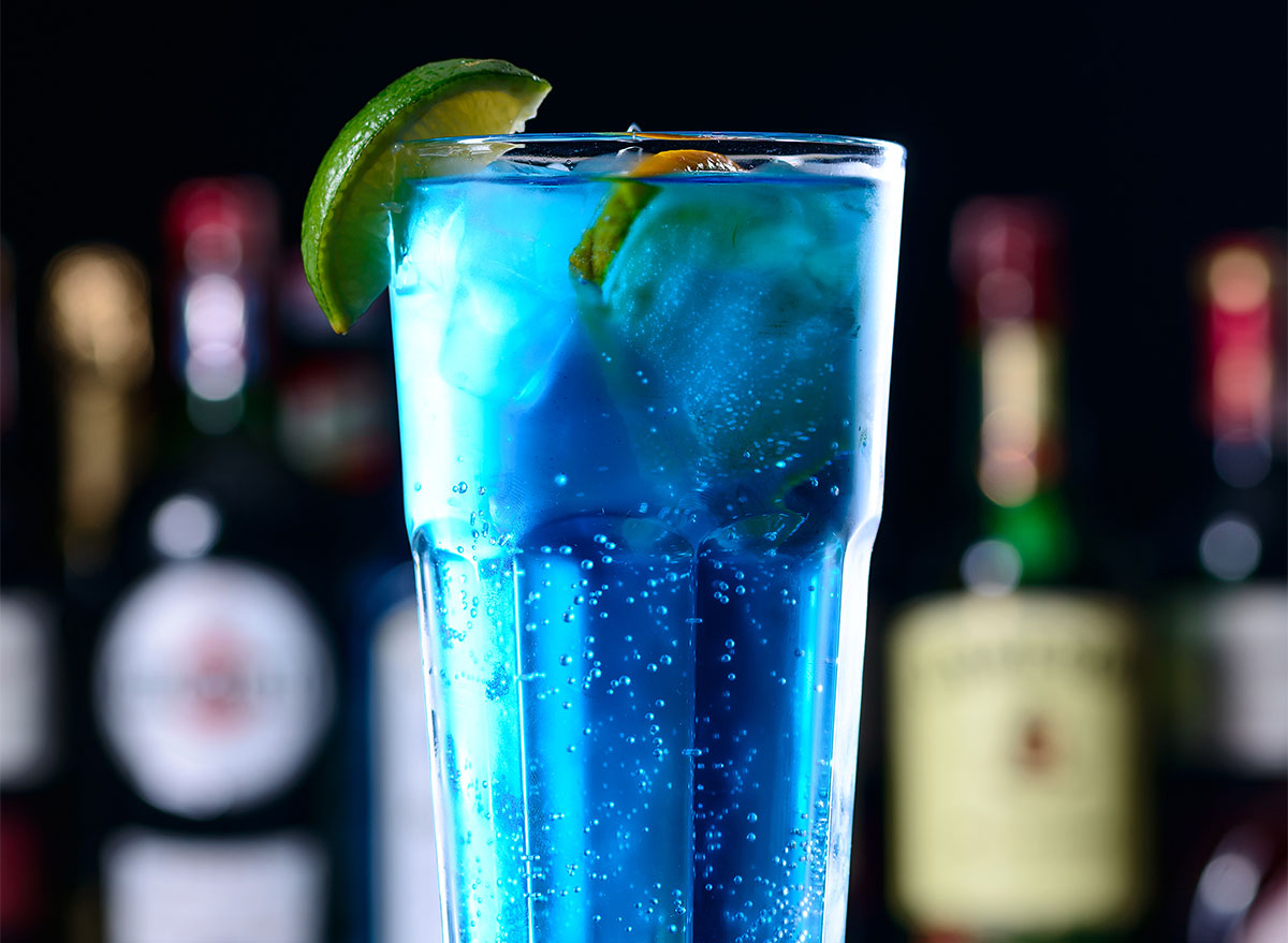 electric blue long island iced tea