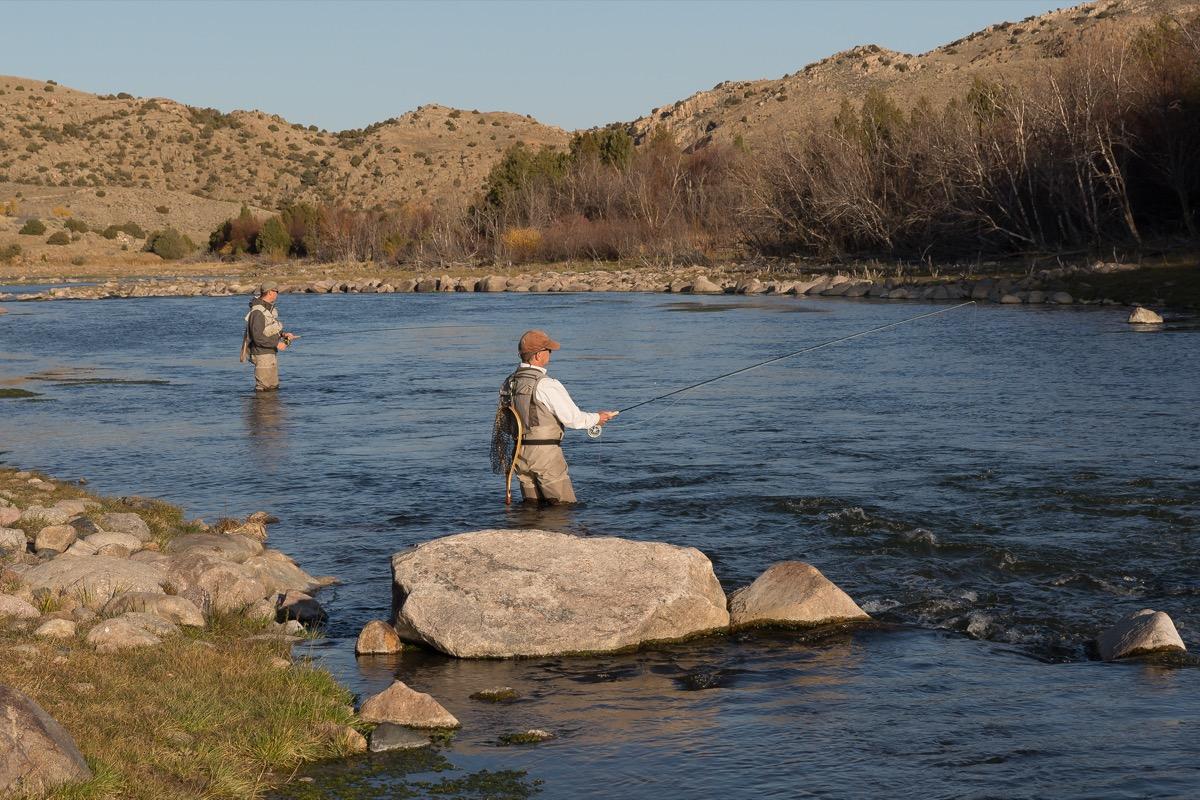 fly-fishing, Fremont Canyon, Wyoming