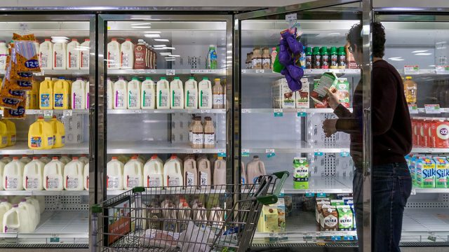 fridge section