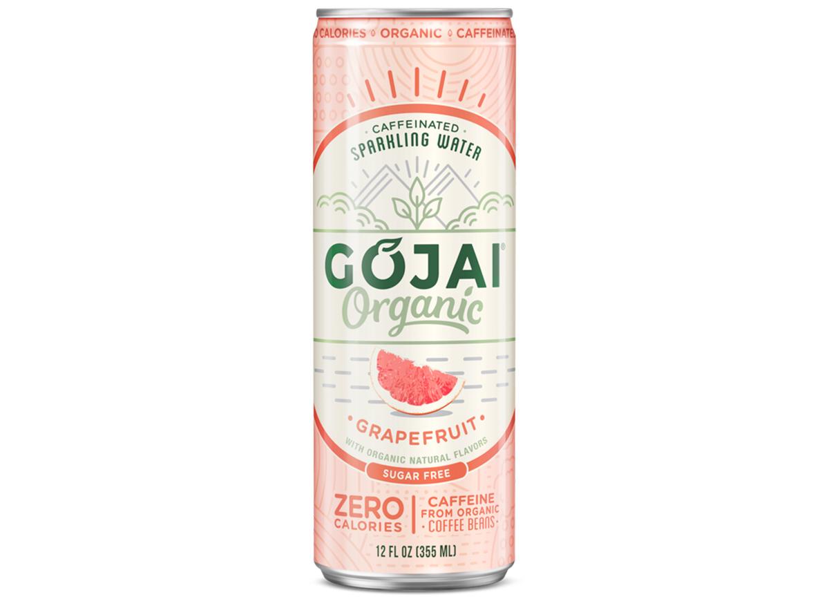 Gojai grapefruit caffeinated sparkling water