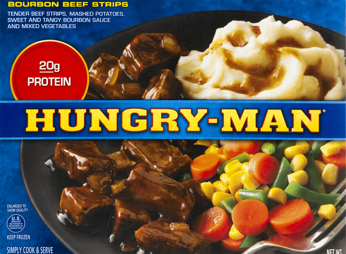 hungry man bourbon beef strips