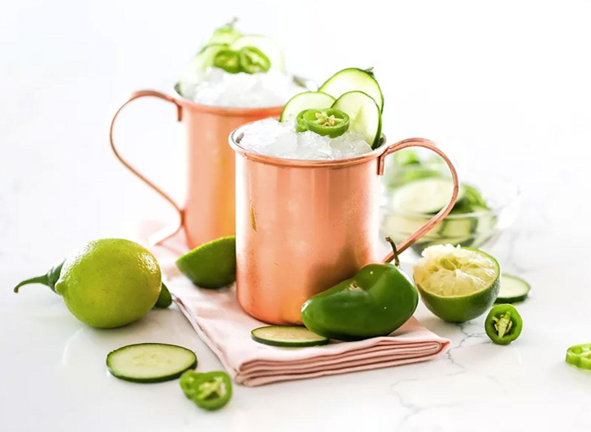 jalapeno cucumber mule