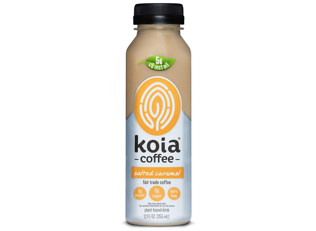 Koia salted caramel coffee