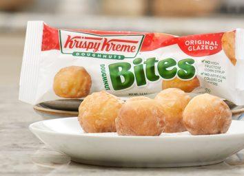 Krispy kreme doughnut bites