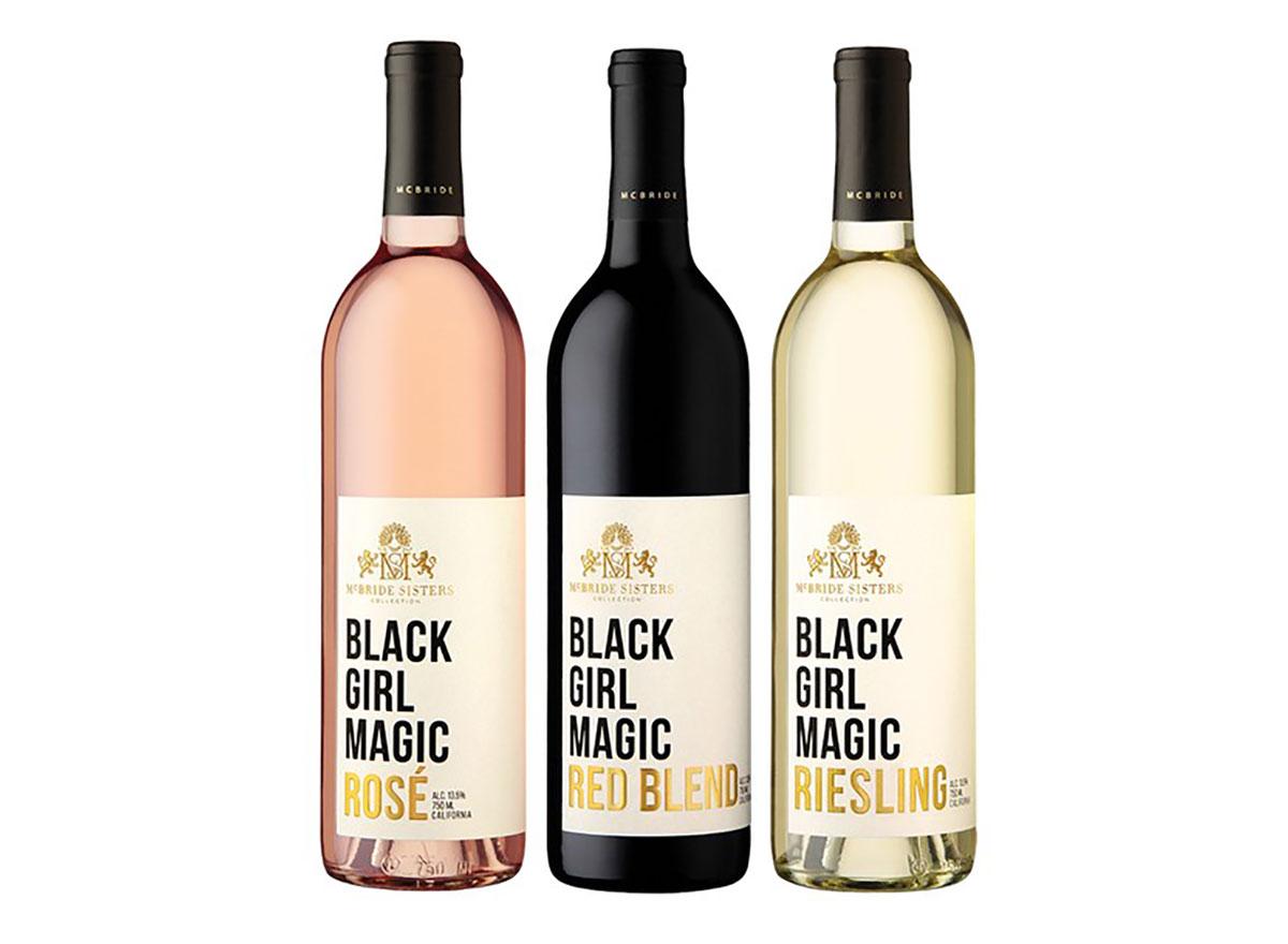 mcbride sisters wine bottles