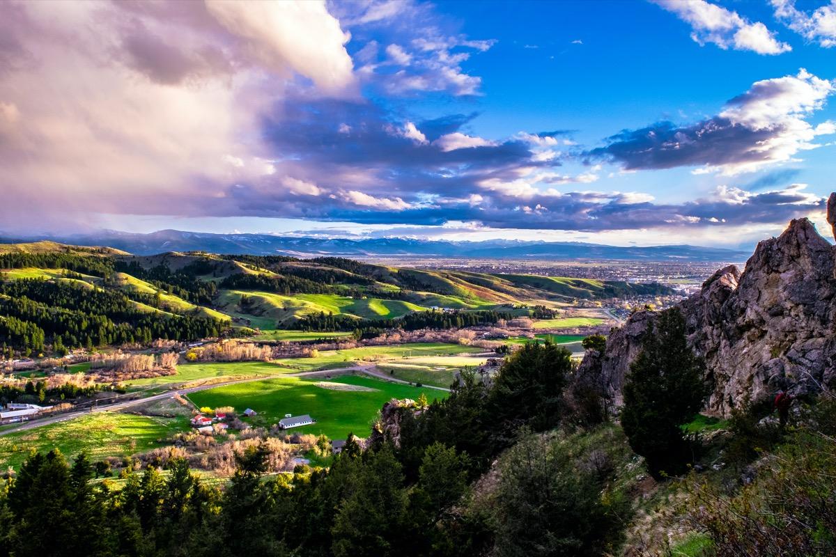 Sunset in Montana