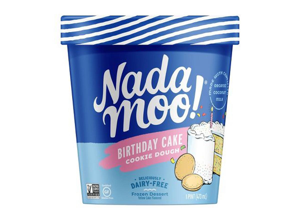 nada moo birthday cake