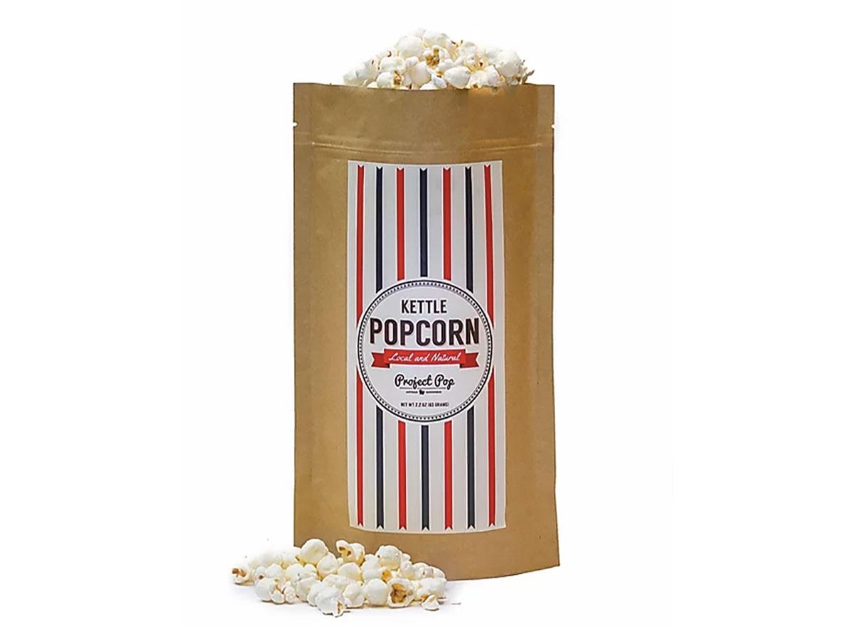 bag of project pop kettle corn